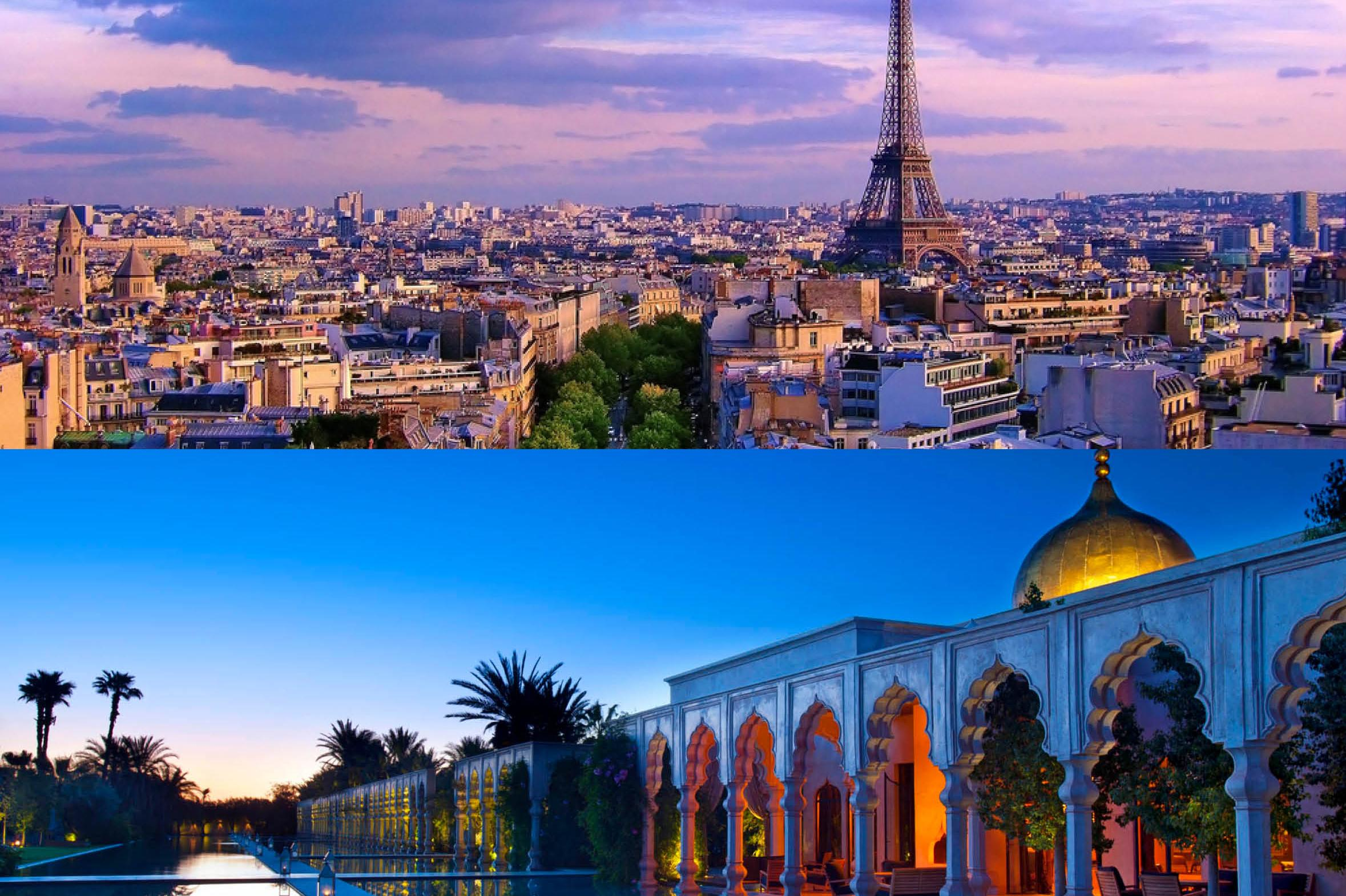 Paris France and morocco