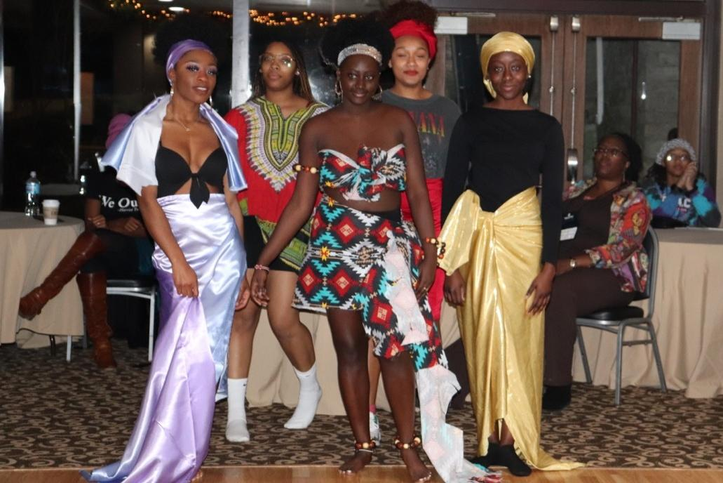 attendees wearing Handmade fashions