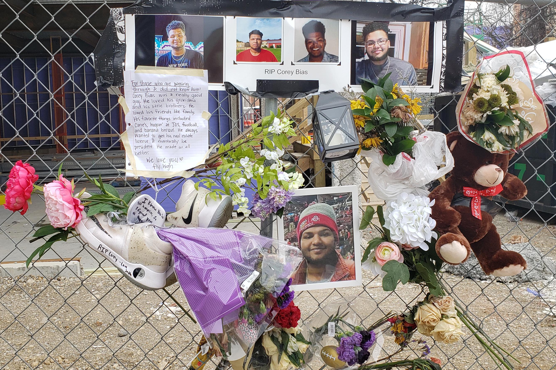 memorial for Corey Bias