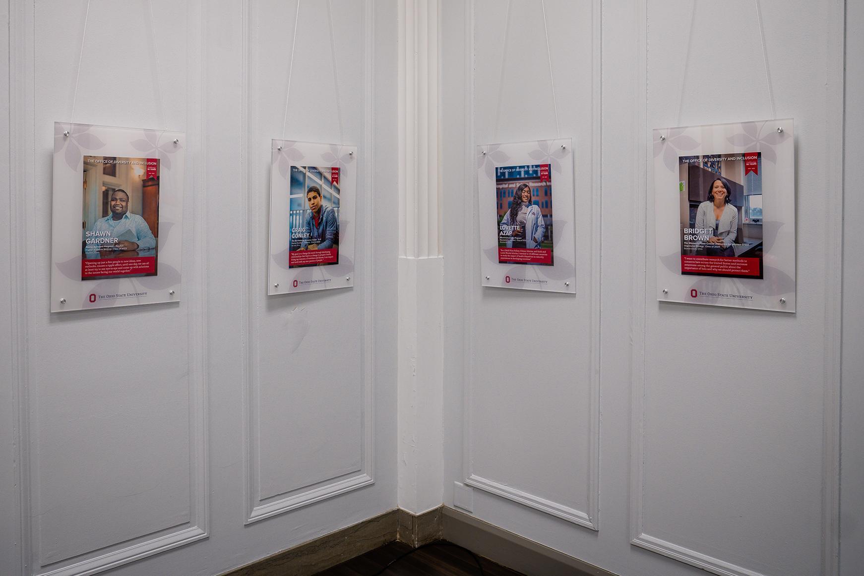 Frames with ODI Scholar photos