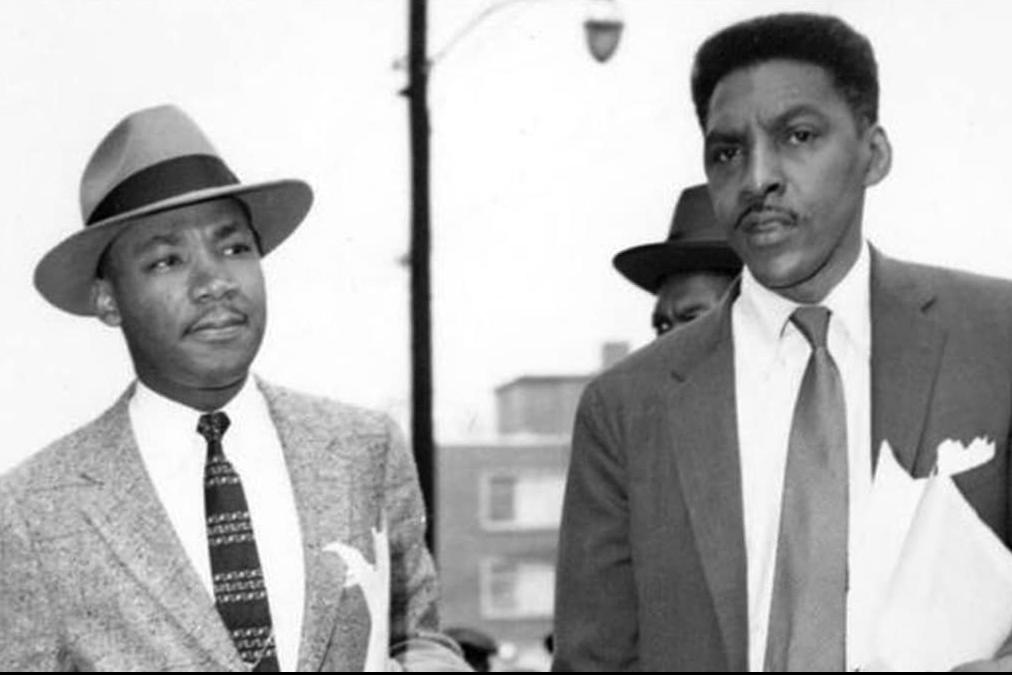 Baynard Rustin and Martin Luther King Jr.